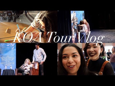 Kingdom Of Ash Tour VLOG | I Meet Sarah J Maas!!!