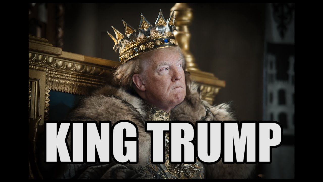 "King Trump (parody of Steve Martin's ""King Tut"") by Bob Rivers"