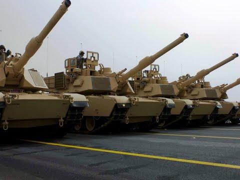 Американские «Абрамсы» прогревают моторы возле границы с Белоруссией