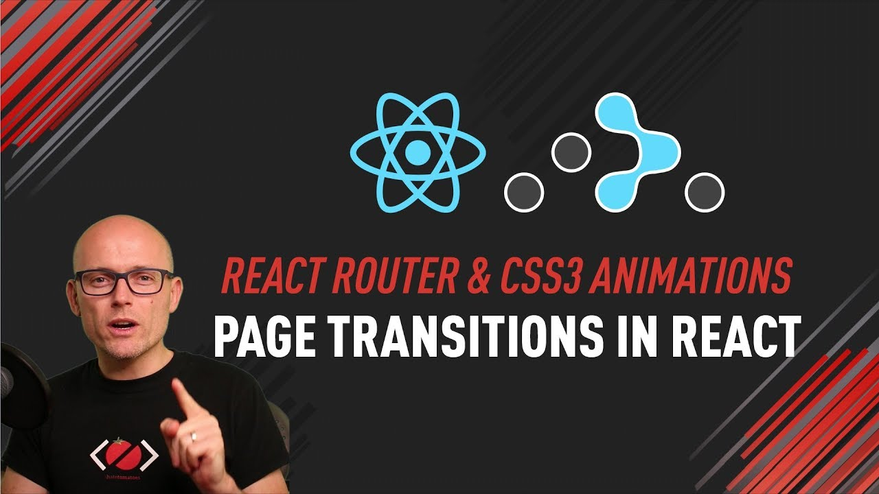 How to create page transitions with React Router