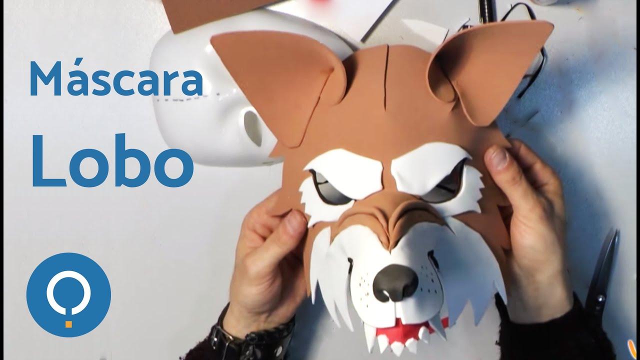 Cómo Hacer Una Máscara De Lobo Feroz 12 Youtube