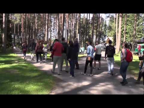 Scenes from 2014 Summer Law Program in Lithuania. Texas Tech University School of Law.