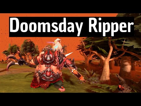 Dota 2 - Doomsday Ripper Pudge Set (Very Rare)