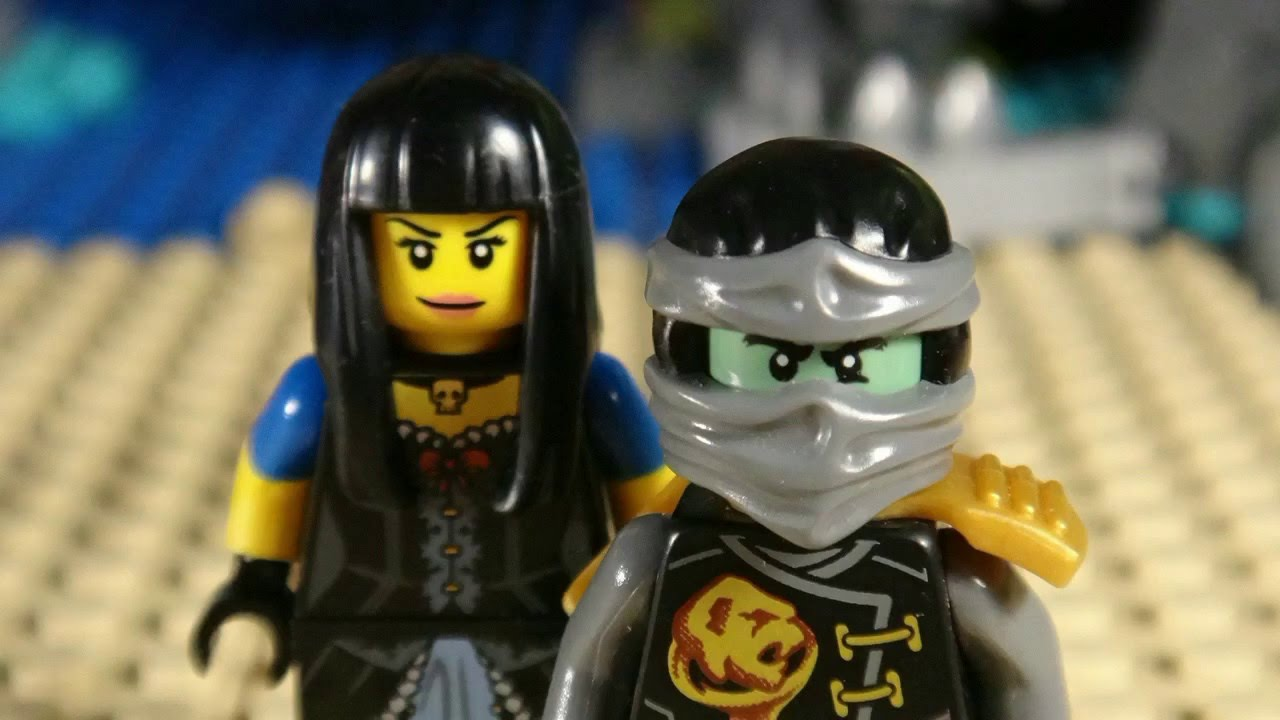 lego ninjago cole and hiroko vs sky pirates youtube