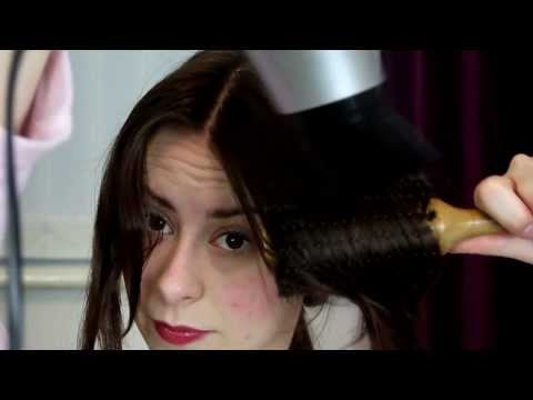 Centre Part | Easy Blow Dry