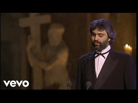 Andrea Bocelli - Ave Maria - Live From Basilica Di Santa Maria Sopra Minerva, Italy / 1999