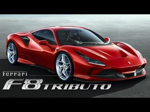 Ferrari F8 Tributo 2019 Youtube