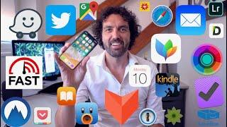 Můj iPhone X - Apps, nastavení, doplňky [4K]