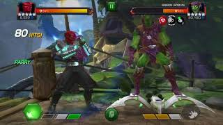 5* Red Skull gameplay Cowhale - Marvel Contest of Champions