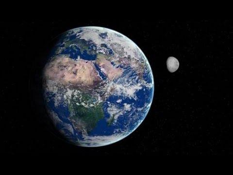 dünya ve ay arasındaki hareket ilişkisi ile ilgili görsel sonucu