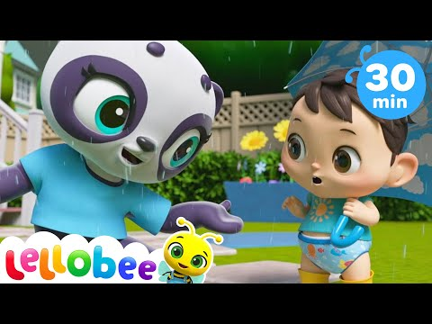 Rain Rain Go Away Song! + More Nursery Rhymes & Kids Songs - ABCs and 123s | Little Baby Bum