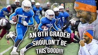 This kid has the potential to do some big things in football!!! Let...