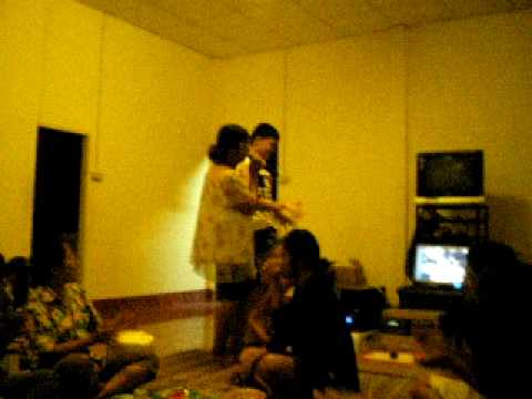Life In My Thailand, Rural Isaan, Family karaoke in the jungle part III