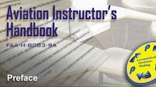 aviation instructors handbook preface audio