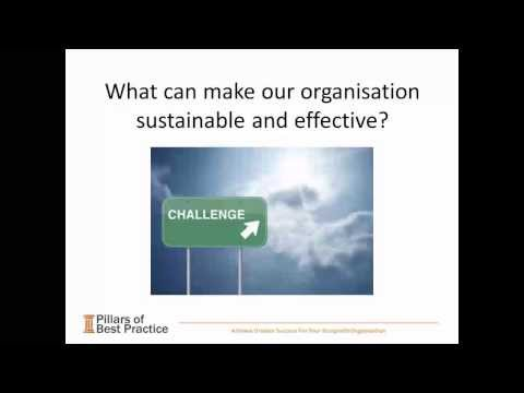 Creating a Sustainable Organisation