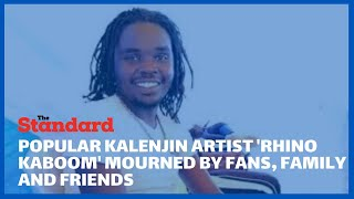 Popular Kalenjin artist, Rhino Kaboom, dies in road accident