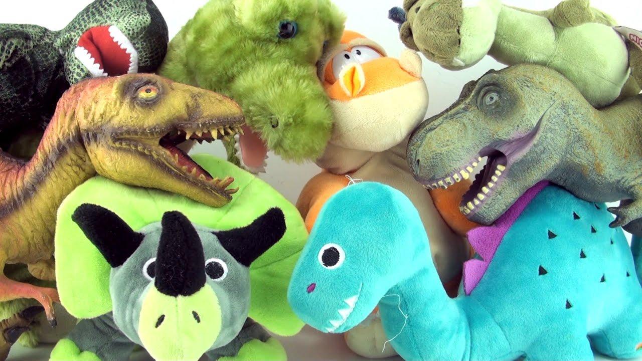 Dinosaurs Toys Collection : Dinosaur soft toys plush dinosaurs toy collection