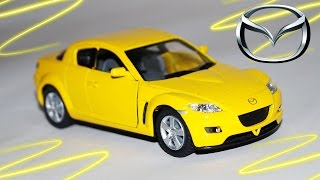 Мультик про машинки. Учим Марки машин. MAZDA RX 8. Развивающий мультик. Cars Cartoon