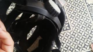 Bike Helmet saves my life Bike Crash