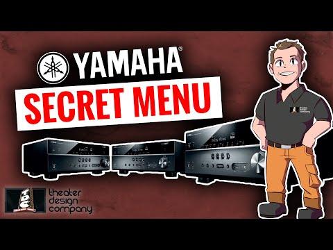 Yamaha Secret Menu