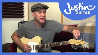 How to Tune Your Guitar To Open E Tuning (Guitar Lesson ES-033)