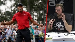 Pat McAfee Talks Tiger Woods' Masters Win