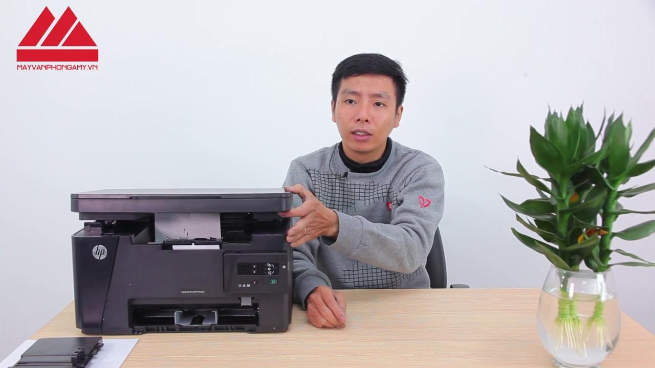 Máy in  Review và hướng dẫn sử dụng máy in Laserjet HP M125A