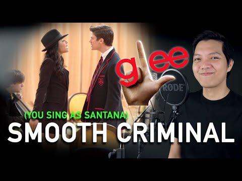 Smooth Criminal (Sebestian Part Only - Karaoke) - Glee