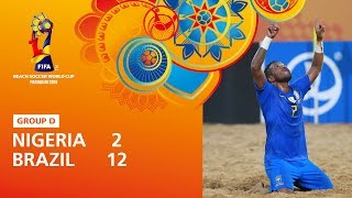 Nigeria v Brazil [Highlights] - FIFA Beach Soccer World Cup Paraguay 2019™