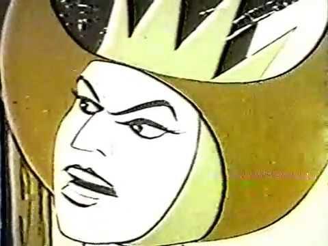 Lone Ranger Cartoon 1966 - Kingdom of Terror! - Vintage Animated Western