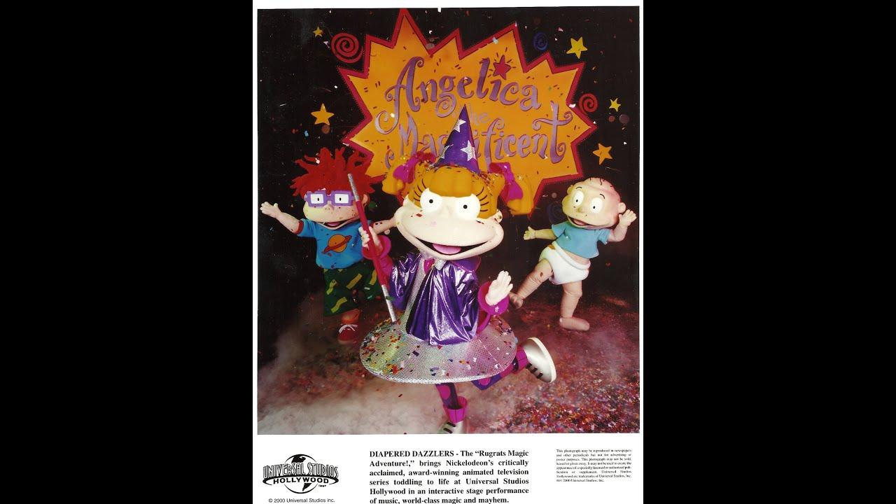 Cartoon Characters Universal Studios : Rugrats magic adventure full show soundtrack universal
