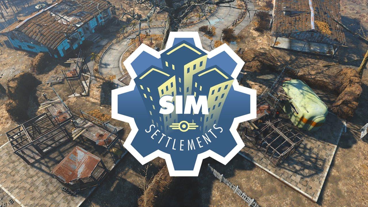 Sim Settlements - Fallout 4 Mods
