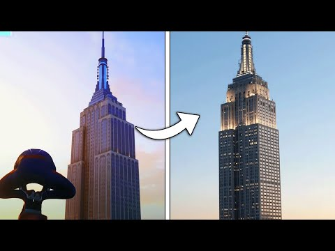 Marvel's Spider-Man PS4 - Game vs Real Life New York