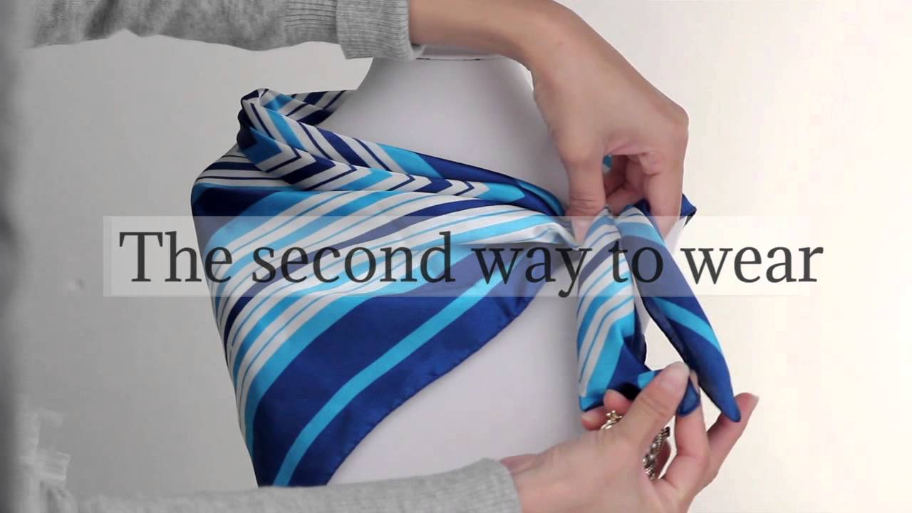 how to make a scarf ring