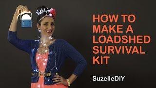 SuzelleDIY - How to Make a Loadshedding Survival Kit