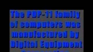 Programming the PDP11, part 4 of 4
