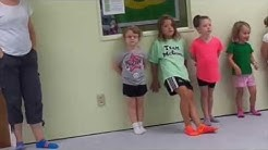 Ryleigh's First Irish Dance Class!!!