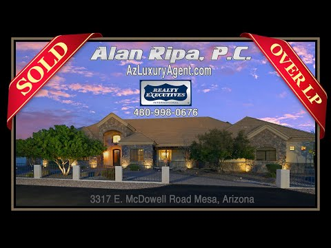 LP: $1,287,557 Million • 3317 E McDowell Road Mesa Arizona • Short Video Version