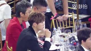 170909 Luhan and Deng Chao _ Bazaar Charity Night 15th Anniversary (2)