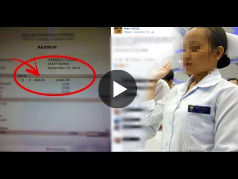 Facebook Post That Shows  The Salary Of A Nurse Went Viral