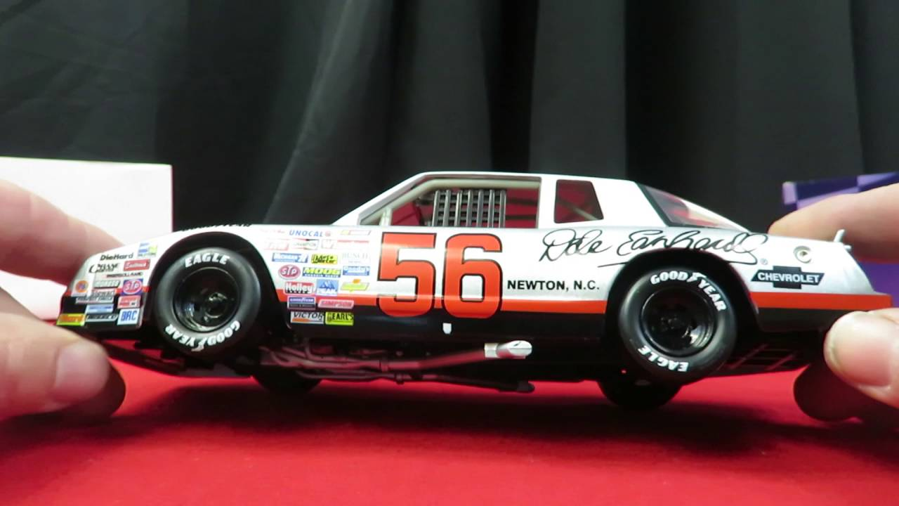 Dale Earnhardt Chevrolet >> Action Racing Ernie Irvan 1987 Chevy Monte Carlo SS Diecast Car Scale 1:24 - YouTube