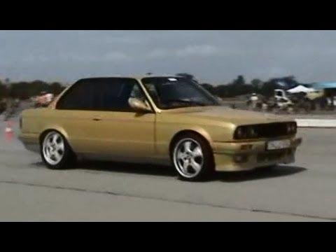 Bmw E30 With Gold Polish 14 1 173 Drag Race Youtube
