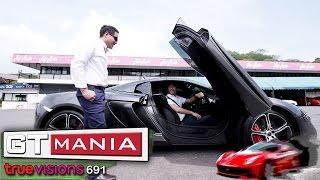 รายการ GT MANIA 13 ก.ค.57 3/4 รถ  Mclaren 650 s
