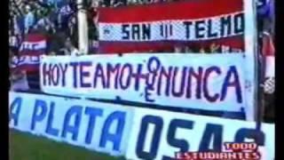 Estudiantes de La Plata - Ultimo partido en primera división 1994