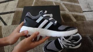 newest 38ffe d0fd3 CUSTOMERS REVIEW UNBOXING Adidas Y 3 Pure Boost ZG Knit + On Feet!