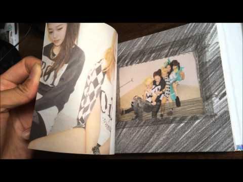 f(x) Vol.1 - Pinocchio (CD+Photobook) - Unboxing