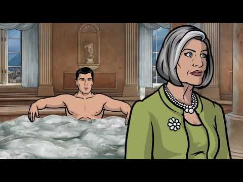 Archer - Jacuzzi Blowjob