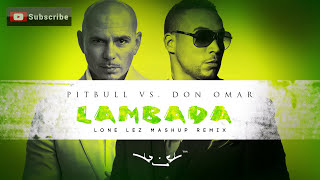 Pitbull Vs. Don Omar - Lambada (Lone Lez Mashup Remix)