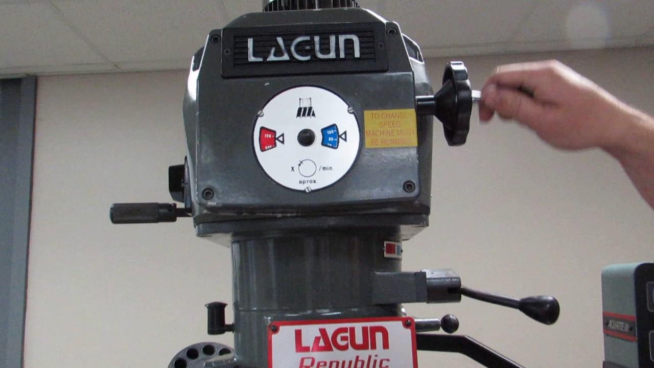 Lagun Ftv 2 Vertical Milling Machine W Acu Rite 2 X Dro