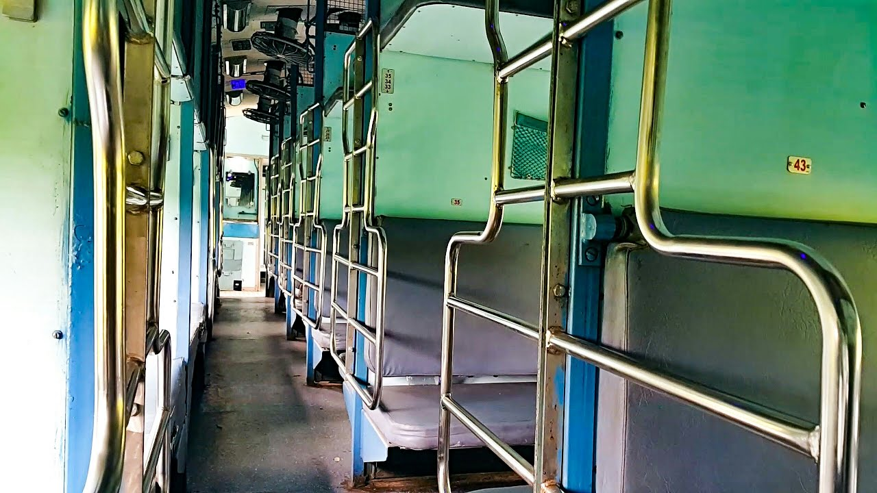 Indian Railways Sleeper Class New Look